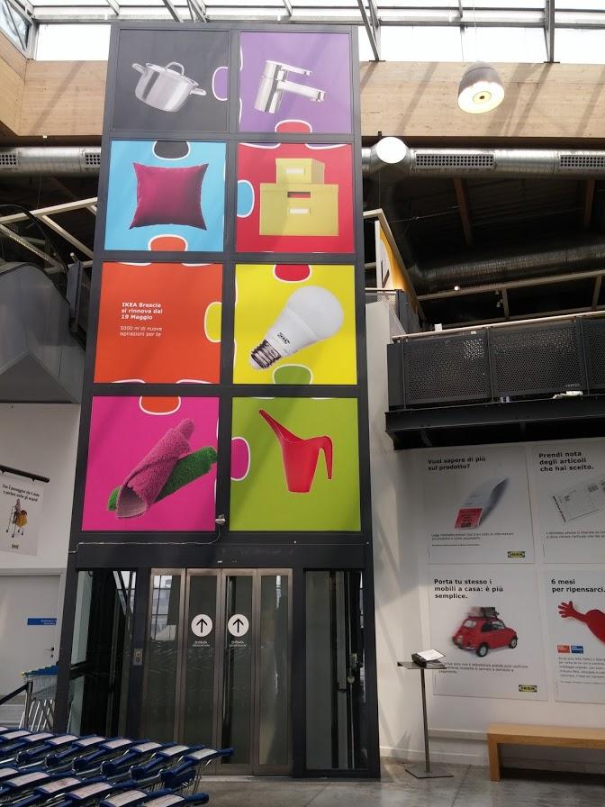 Allestimenti presso Ikea
