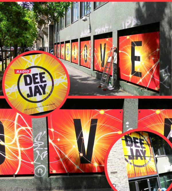 Allestimento Radio Deejay
