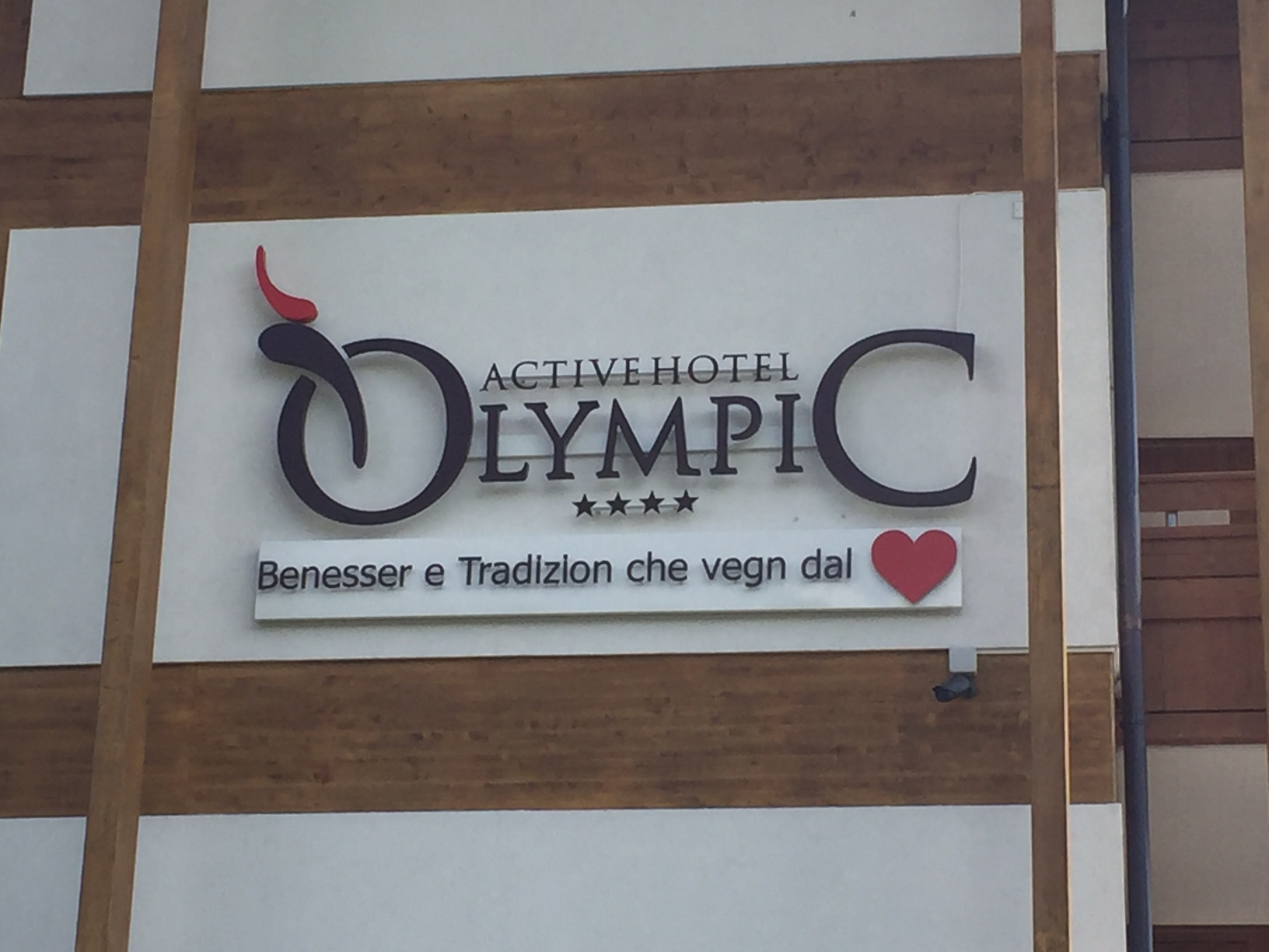 Insegna Active Hotel Olympic