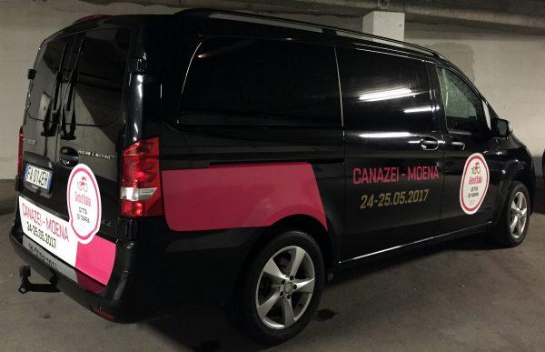 Allestimento furgone – Hotel La Perla, Canazei